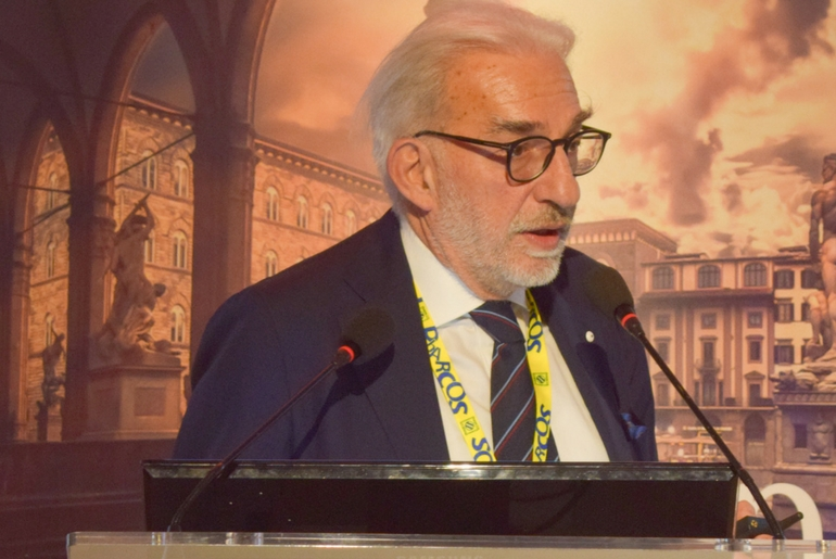 Presidente SIDAPA Dr. Massimo Gola al Centro Congressi Il Globo Firenze