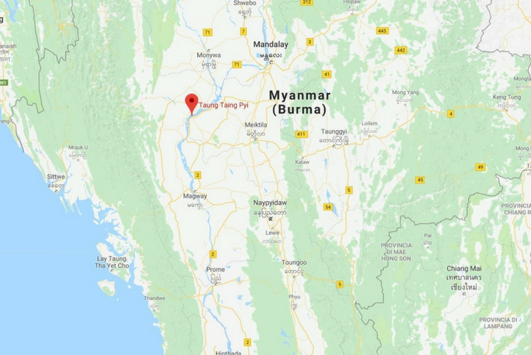 Il progetto di accoglienza turistica verrà sviluppato nell'area della diga Yin Taing Taung