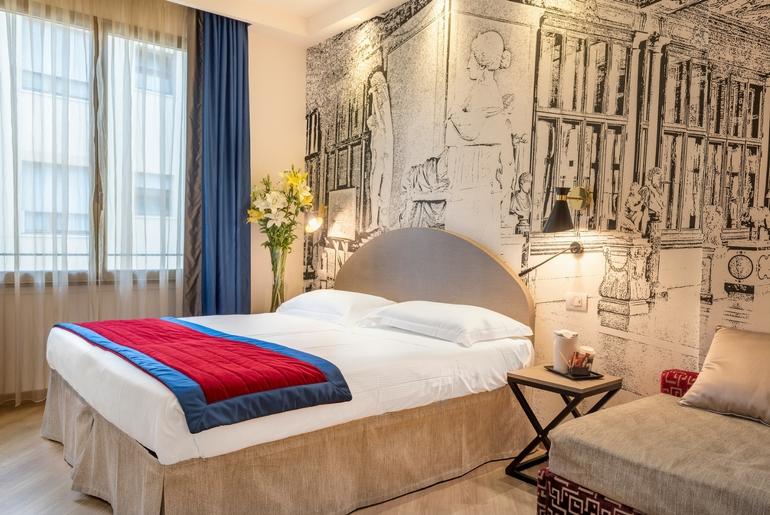 Camera accogliente Grand Hotel Mediterraneo Firenze