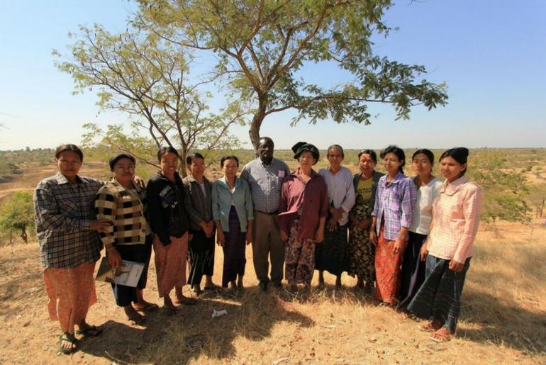 Le donne dei villaggi circostanti la diga beneficeranno del progetto turistico sostenuto da ActionAid