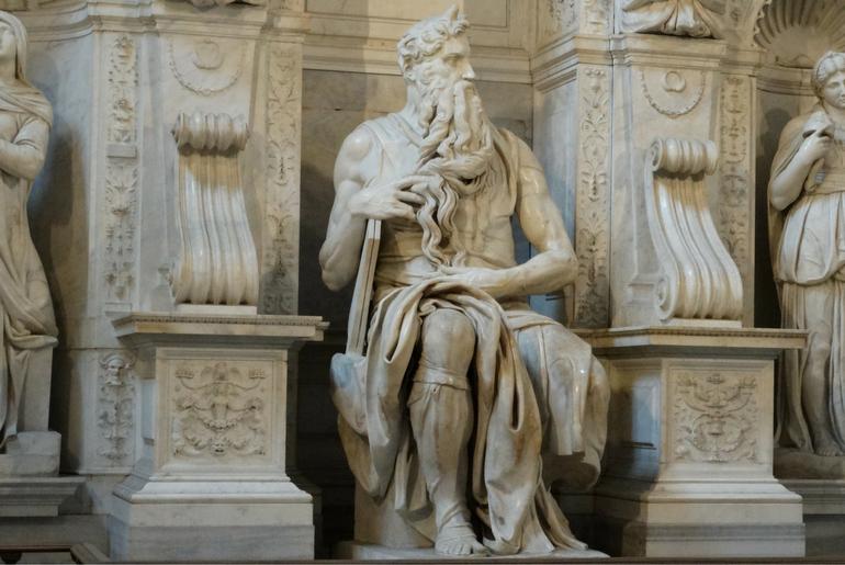 La vacanza arte e cultura continua a Roma con il Mosè di Michelangelo