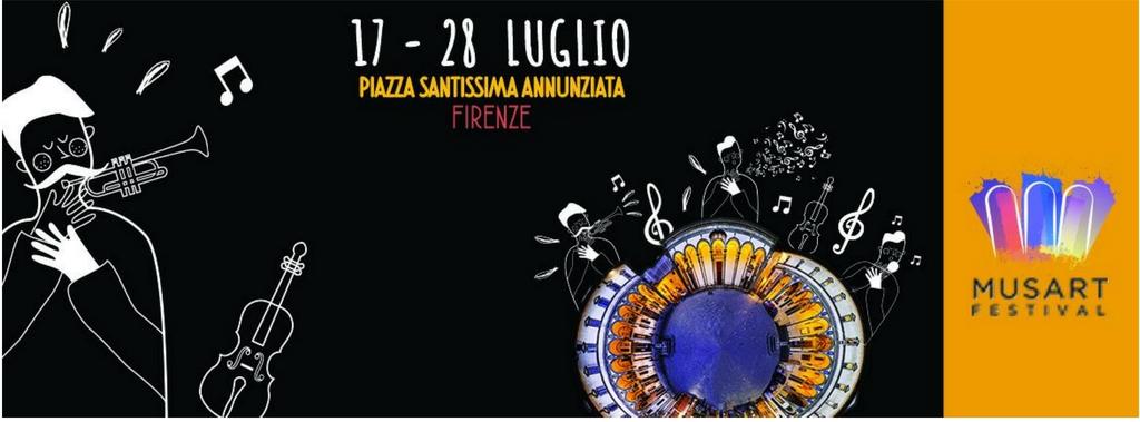Dal 17 al 28 luglio: MusArt Festival. Musica, arte, enogastronomia - Firenze