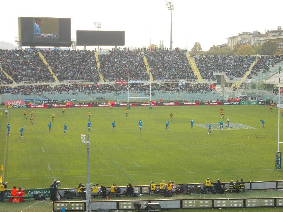partita rugby Italia Australia Firenze eventi