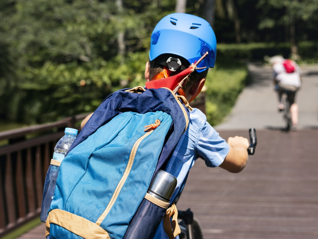 Tour in bicicletta per tutta la famiglia durante le vacanze a Fiesole con i bambini
