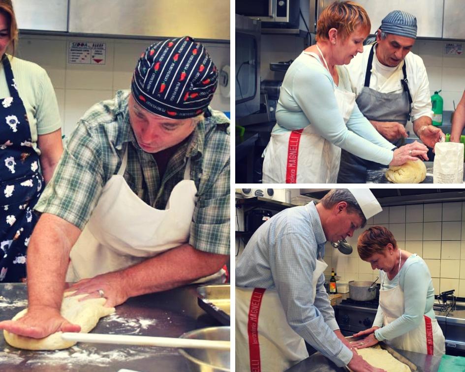 Corsi di cucina - preparazione della pizza presso Hotel Villa Fiesole