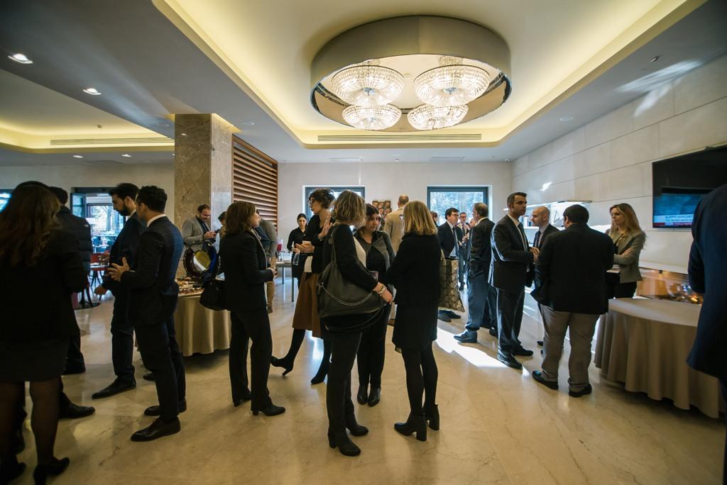 Evento Menarini FH55 Grand Hotel Mediterraneo convention aziendale