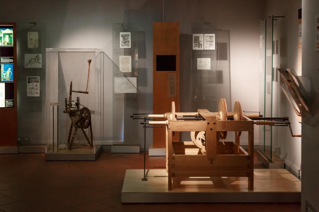 vacanze a Firenze d'inverno al museo di Leonardo da Vinci