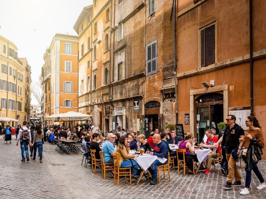 viaggi di lavoro - manager in viaggio a roma - ghetto ebraico