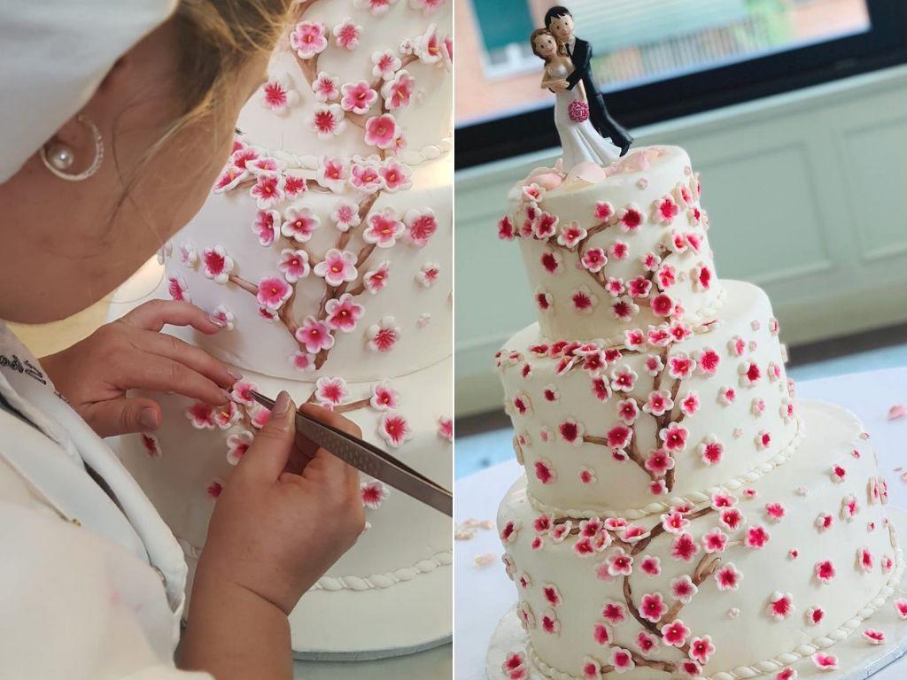 dolci e torte creative - torta nuziale - arte pasticcera - Lina Shopova - FH55 Grand Hotel Palatino