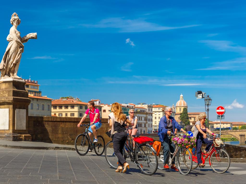 vacanze in bici a Firenze
