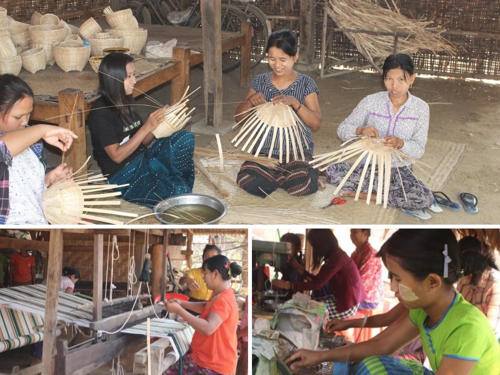 formazione professionale e corsi di artigianato nel progetto di accoglienza