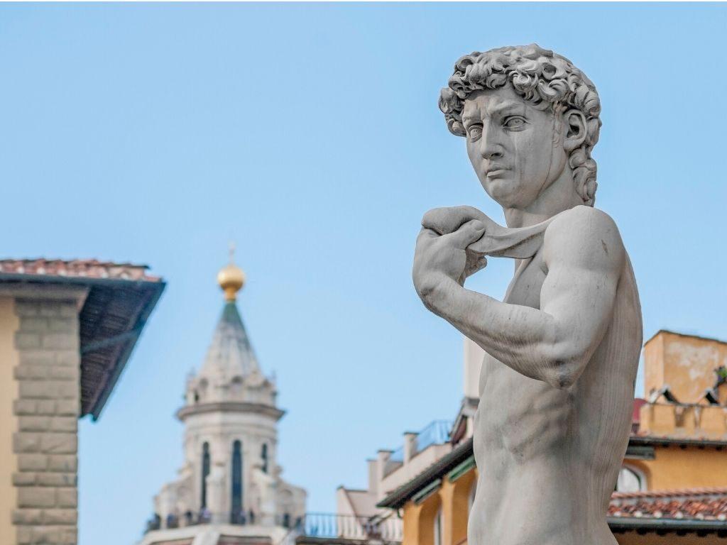 La vacanza arte e cultura continua con il David di Michelangelo