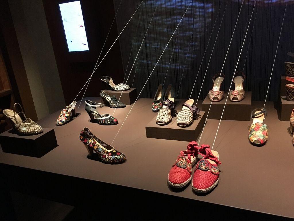 Museo Ferragamo, campionario storico di calzature femminili