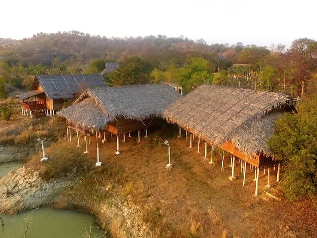 Progetto di accoglienza turistica a gestione locale di ActionAid in Myanmar, nella diga di Yin Taing Taung