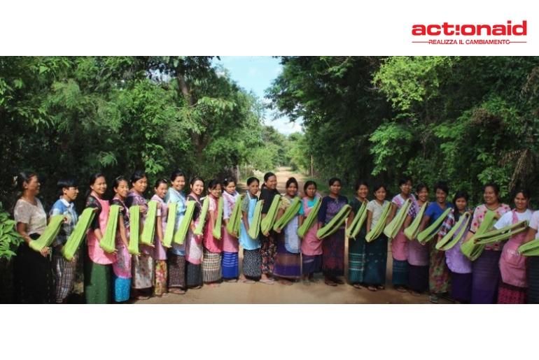 riscatto delle donne birmabe grazie al progetto ActionAid e FH55Hotels
